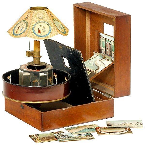 1010: Praxinoscope-Théatre, c. 1879
