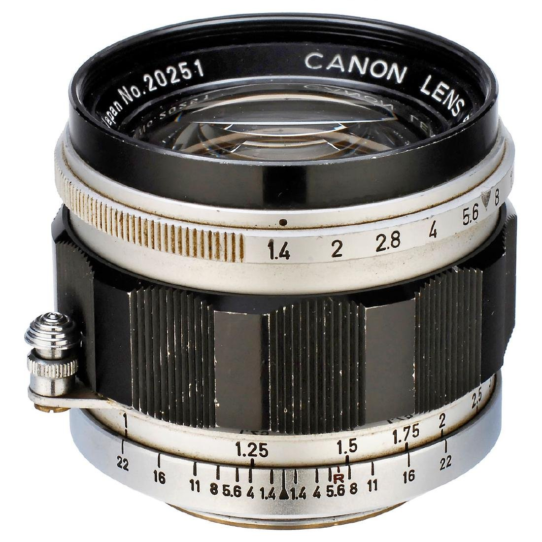 Canon Lens 1,4/50 mm (M39), 1960