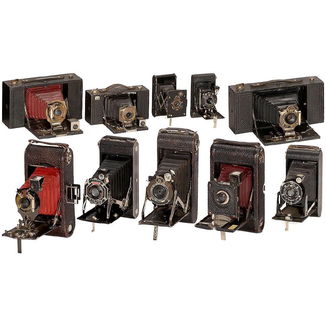 30 Kodak Rollfilm Cameras, 1905 onwards