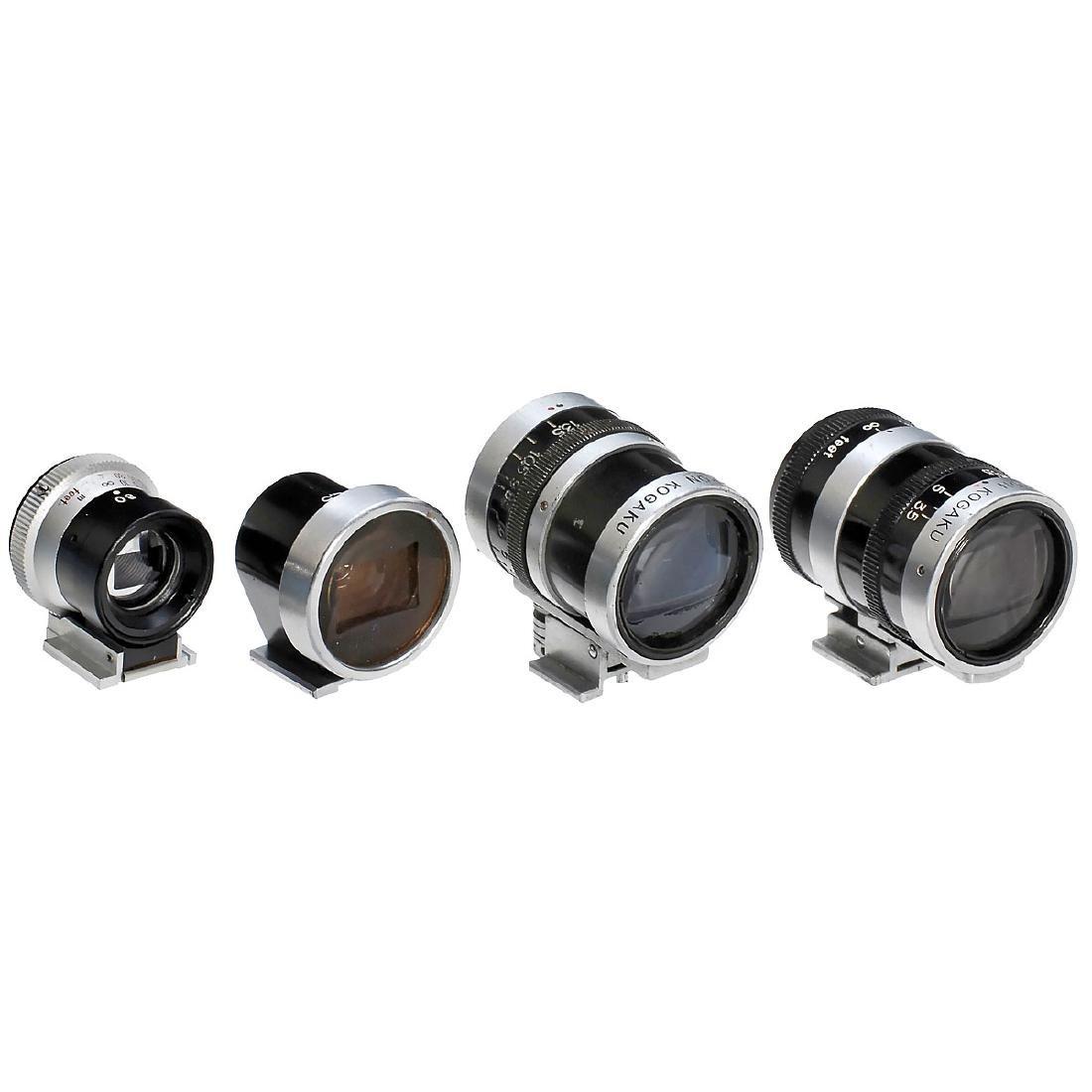 4 Nikon Viewfinders