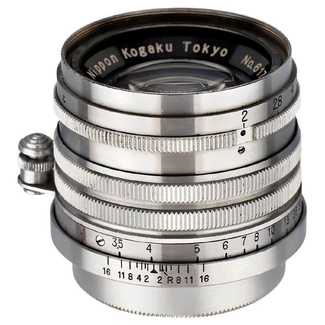 Nikkor-H.C 2/5 cm Screw-Mount Leica, 1953