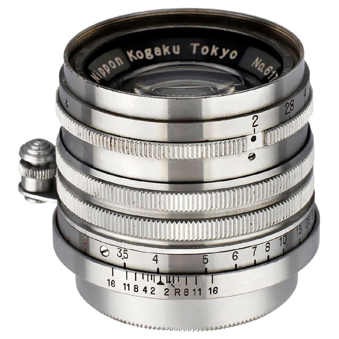 Nikkor-H.C 2/5 cm Screw-Mount Leica, 1953