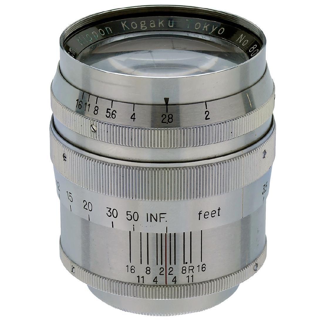 Nikkor-P.C 2/8,5 cm (Leica Screw-Mount)