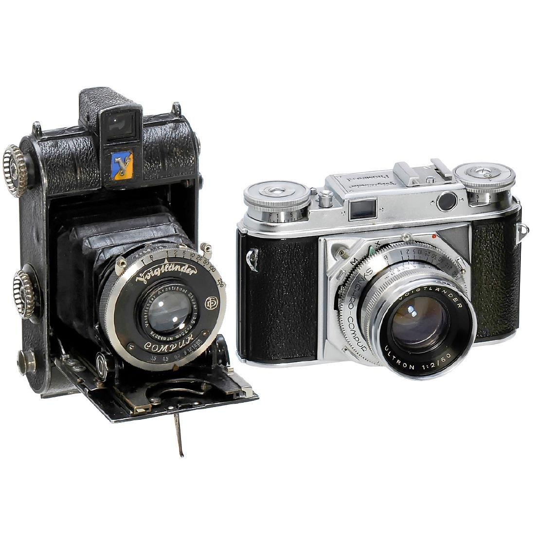 Voigtländer Prominent (35 mm) and Virtus