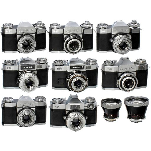 Lot of Contaflex Cameras