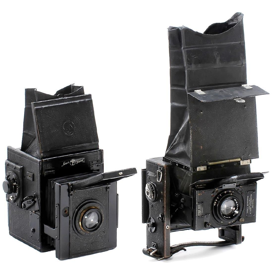 2 Reflex Cameras from England