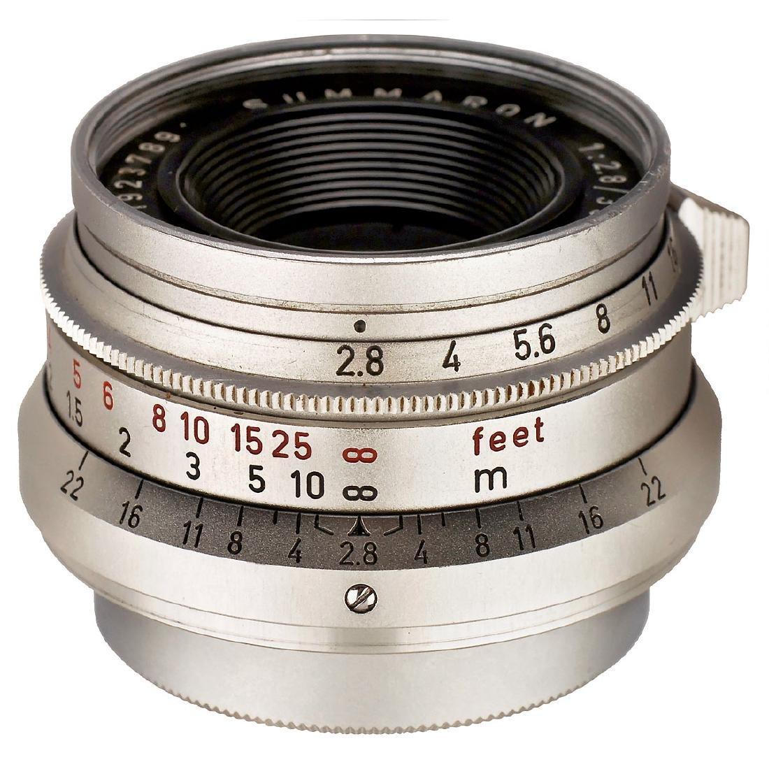 Summaron 2,8/35 mm, 1962