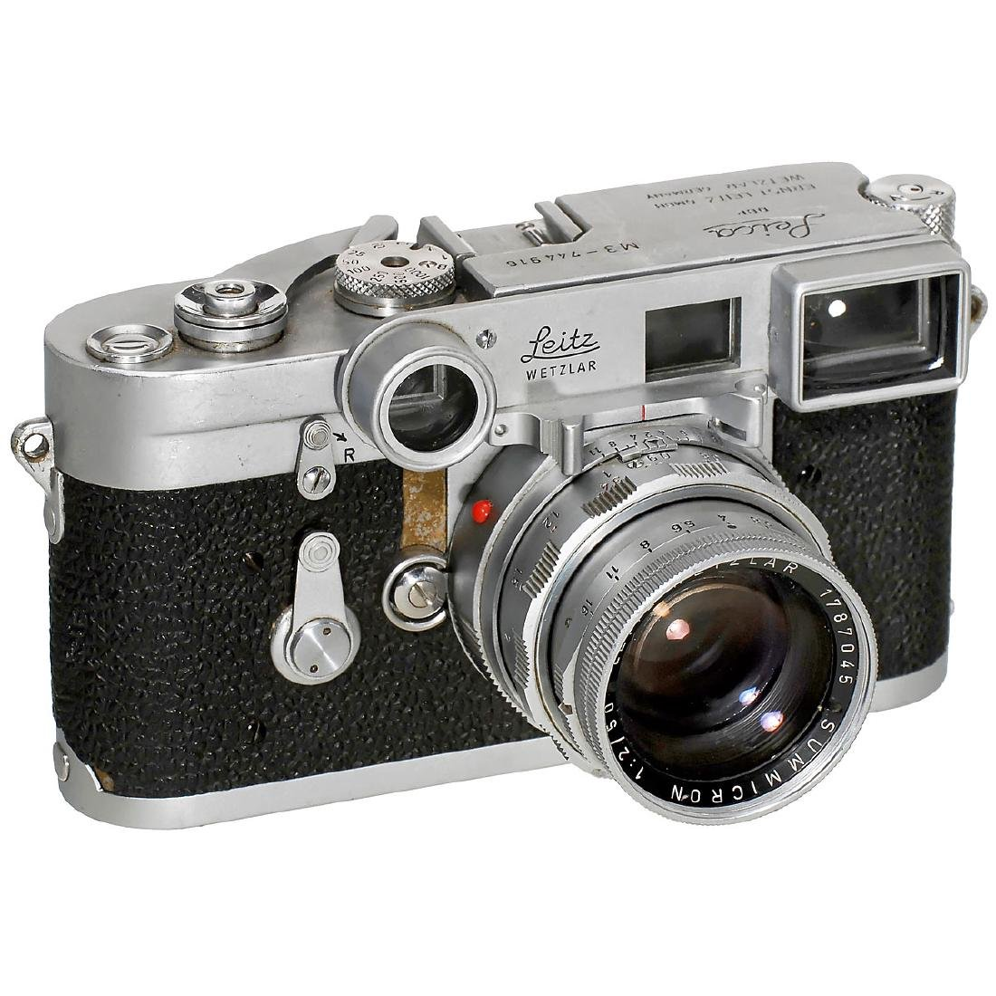 Leica M3 with Close-Range Summicron, 1955
