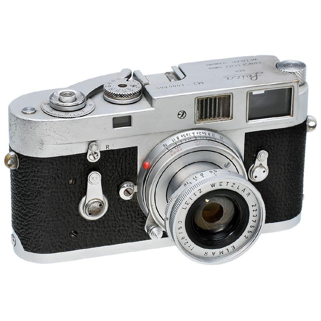 Leica M2 with Elmar 2,8/50 mm, 1960
