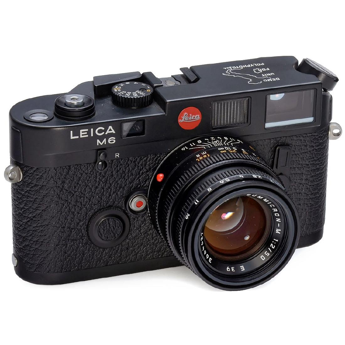 "Leica M6 ""Polyphoto"" with Summicron, 1994"