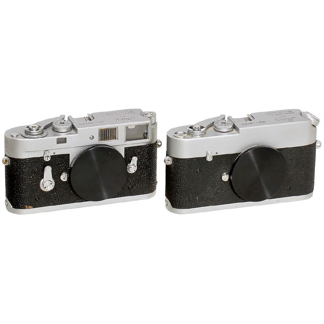 Leica M2 and MDa