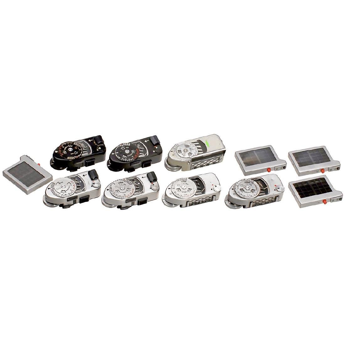 7 Leica-Meters and Accessories
