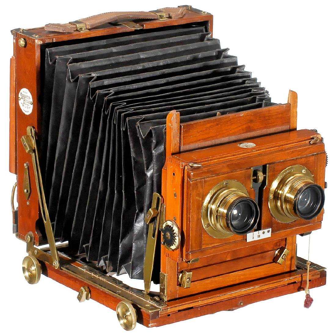 Thornton-Pickard Ruby Stereo, c. 1900
