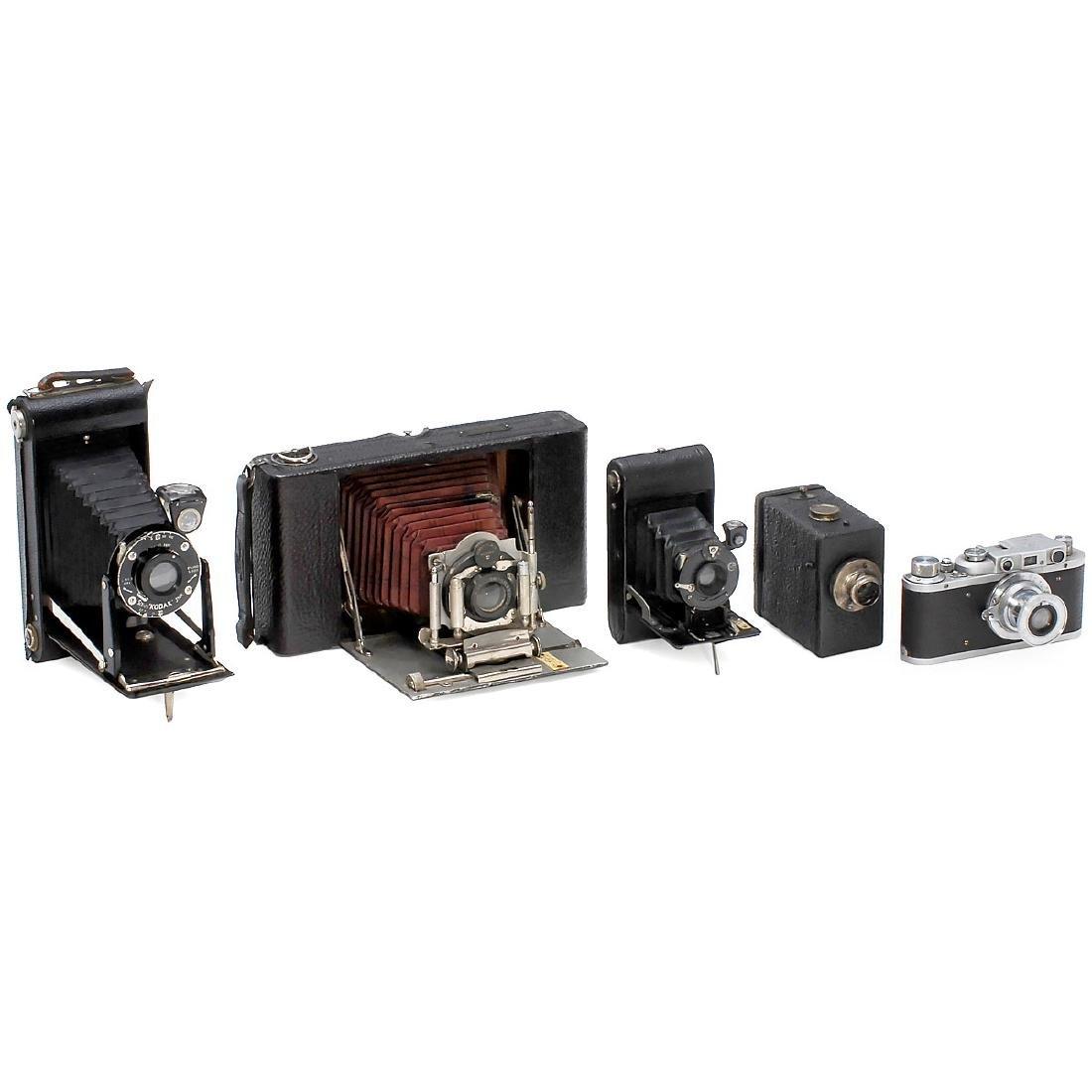 4 Rollfilm and Box Cameras