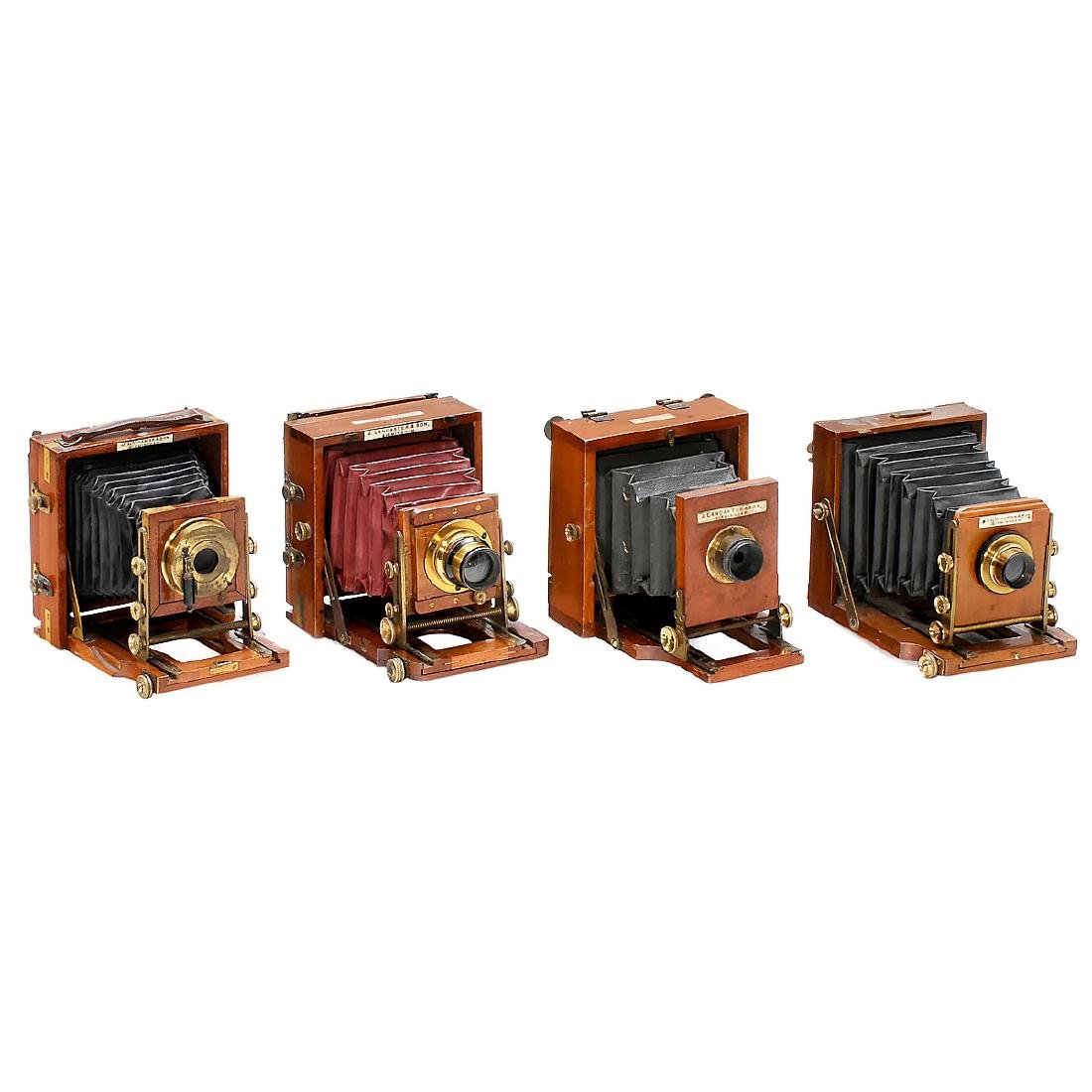 4 Field Cameras by Lancaster & Son