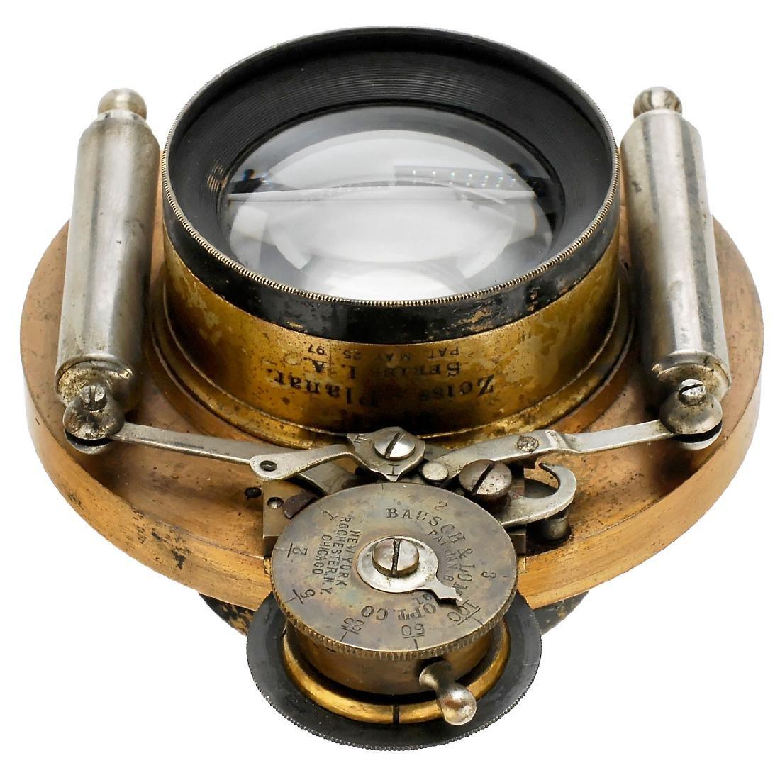 Bausch & Lomb Zeiss-Planar Series I.A., Patent 1897