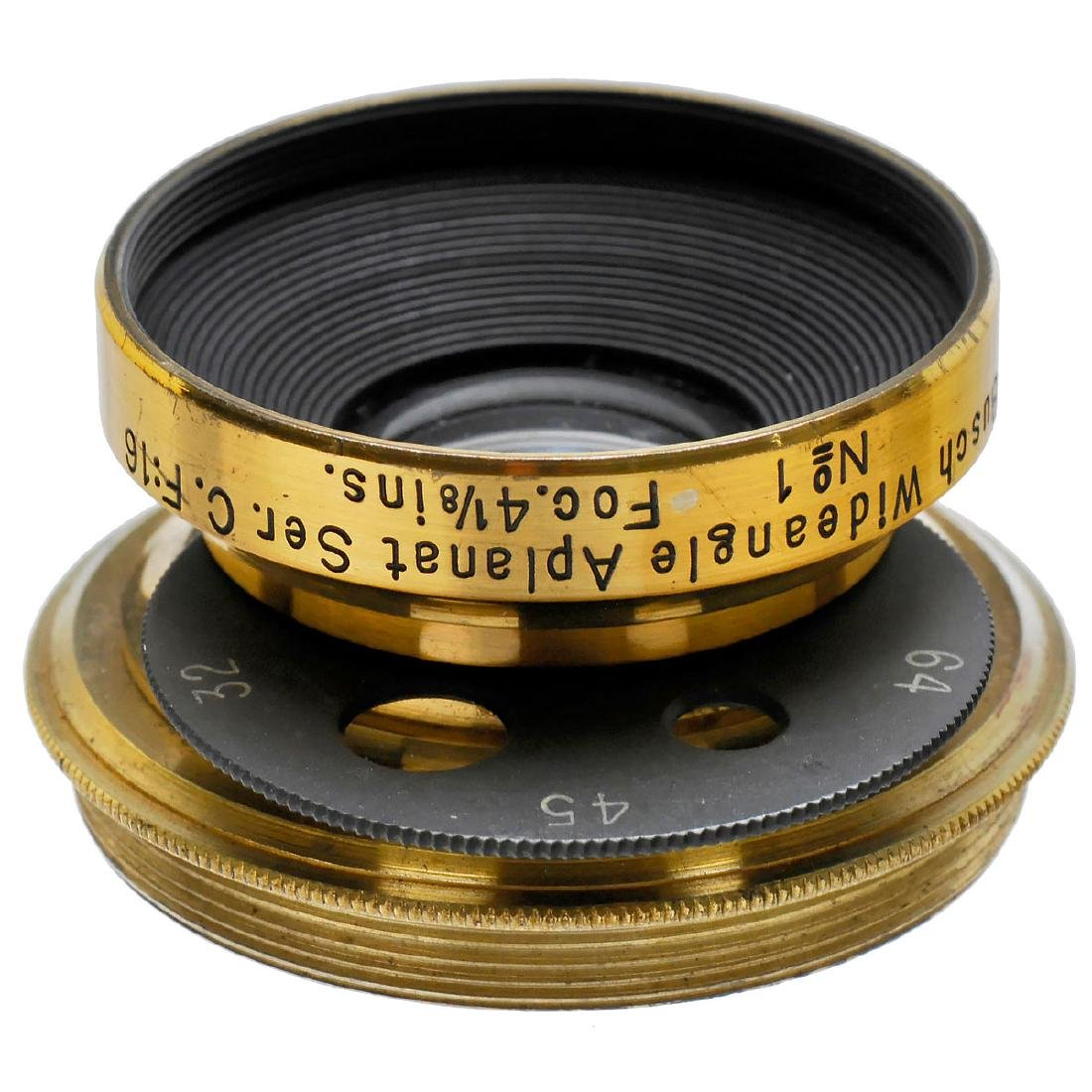 Busch Wideangle Aplanat Lens Ser. C. F:16 No. 1 Foc.
