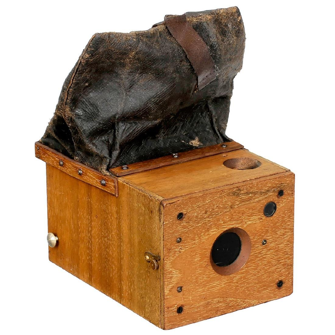 Detective Magazine Camera 6 x 8 cm by Stirn, c. 1891
