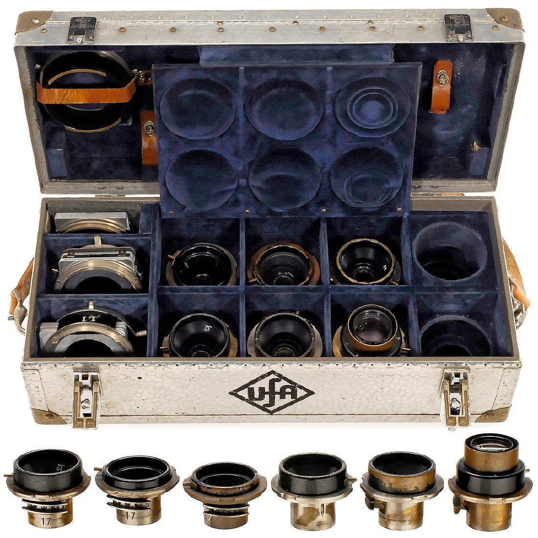 6 Cooke Lenses (Debrie Mount)
