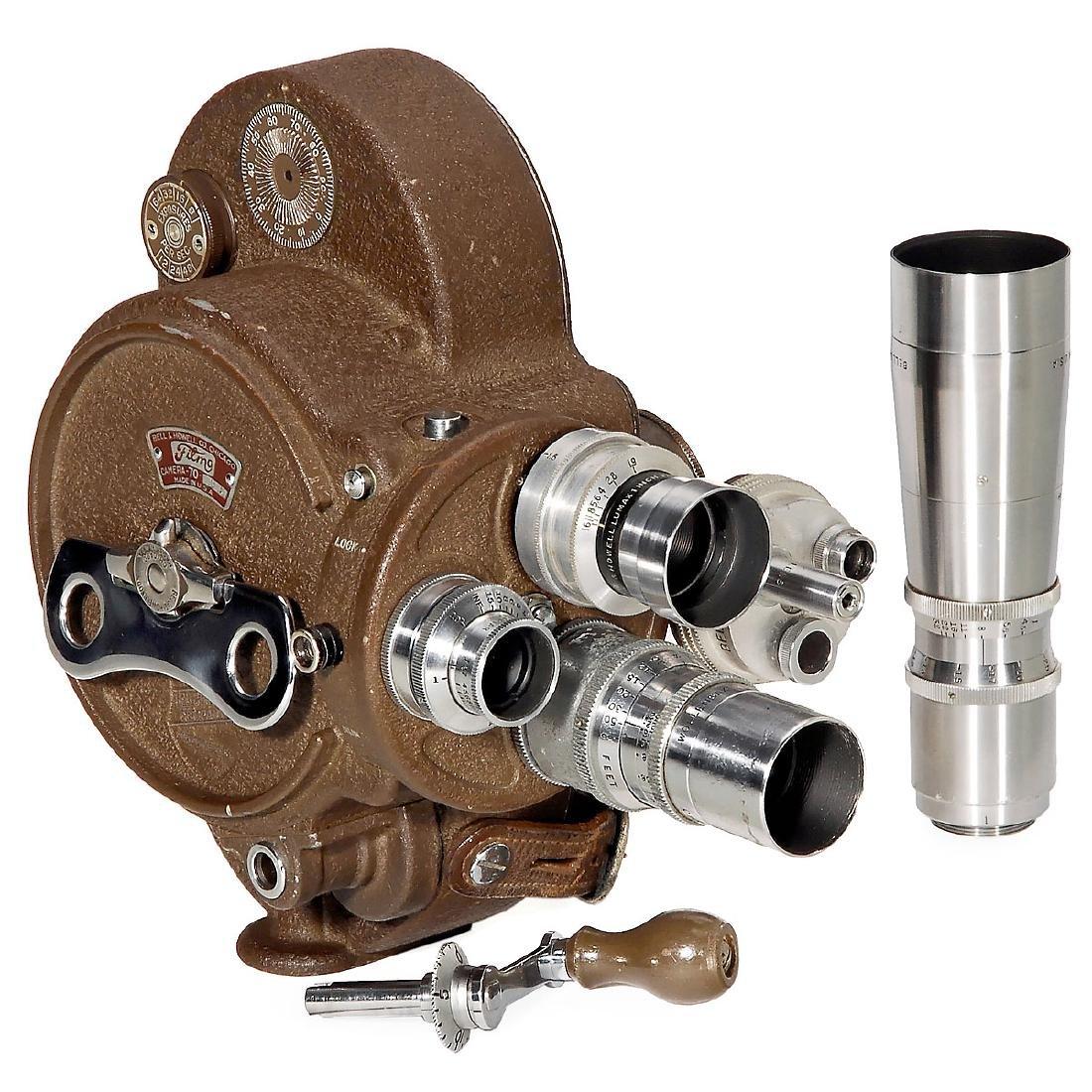 Bell & Howell Filmo 70DA 16mm Movie Camera, c. 1950