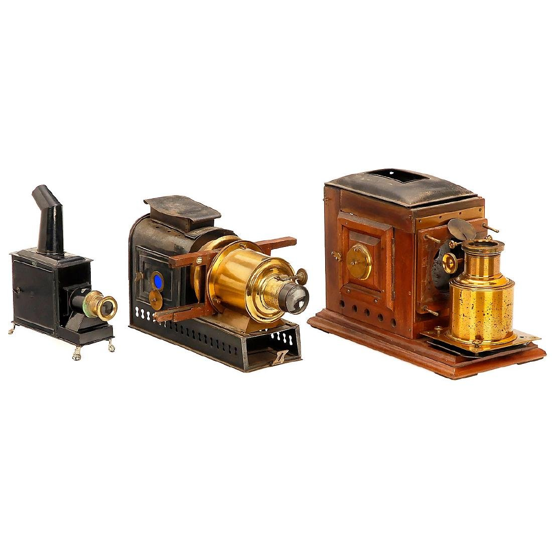 Laterna Magicas and Movie Projectors (Spare Parts) - 2