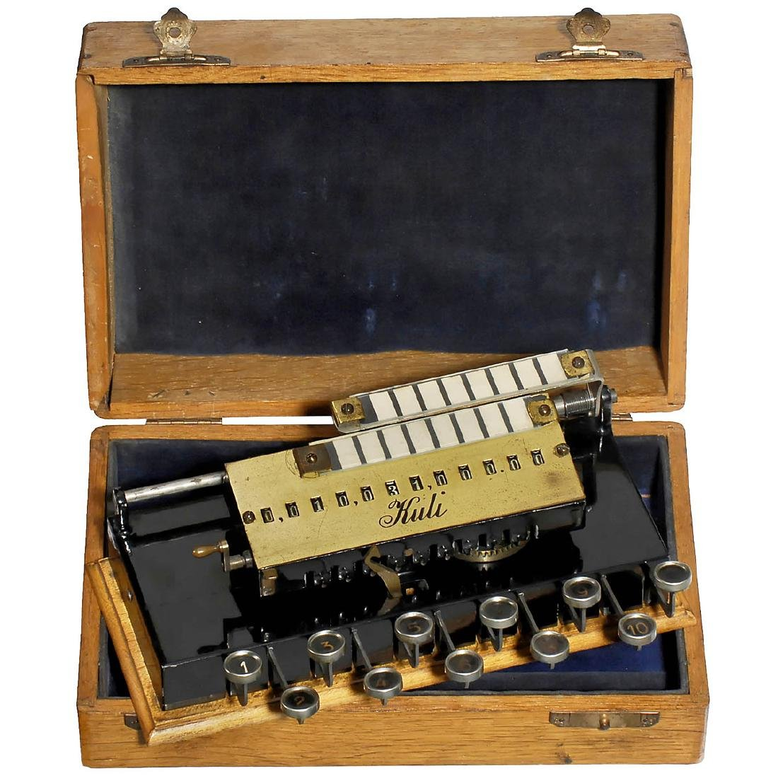 Kuli Calculating Machine, 1909