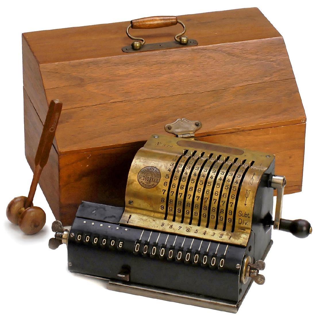 Russian Original Odhner Mod. 1 (Arithmometer), 1886 (!)