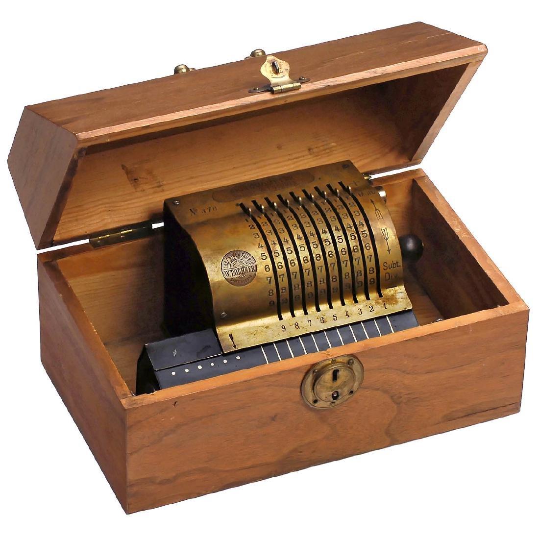 Russian Original Odhner Mod. 1 (Arithmometer), 1886 (!) - 2