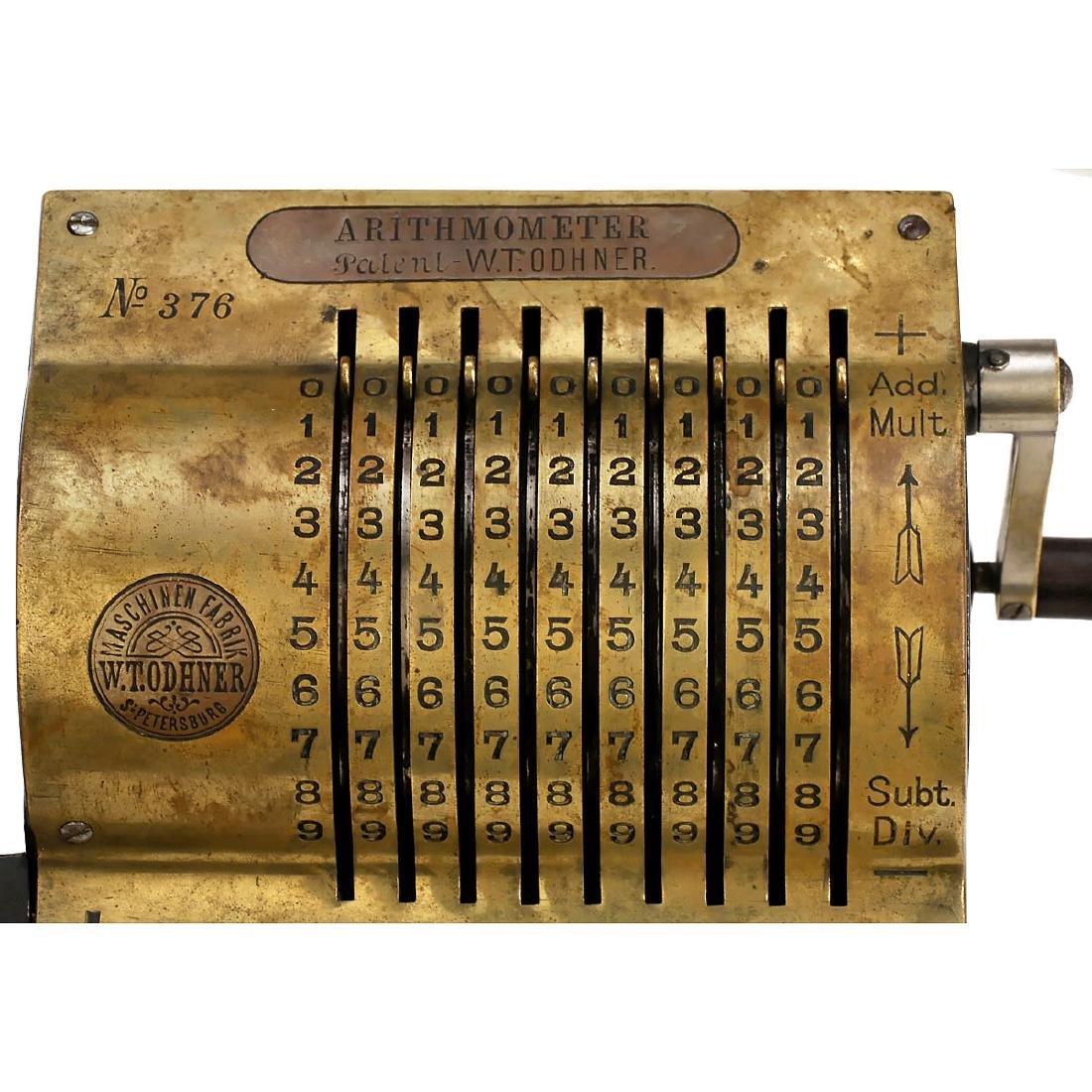 Russian Original Odhner Mod. 1 (Arithmometer), 1886 (!) - 3