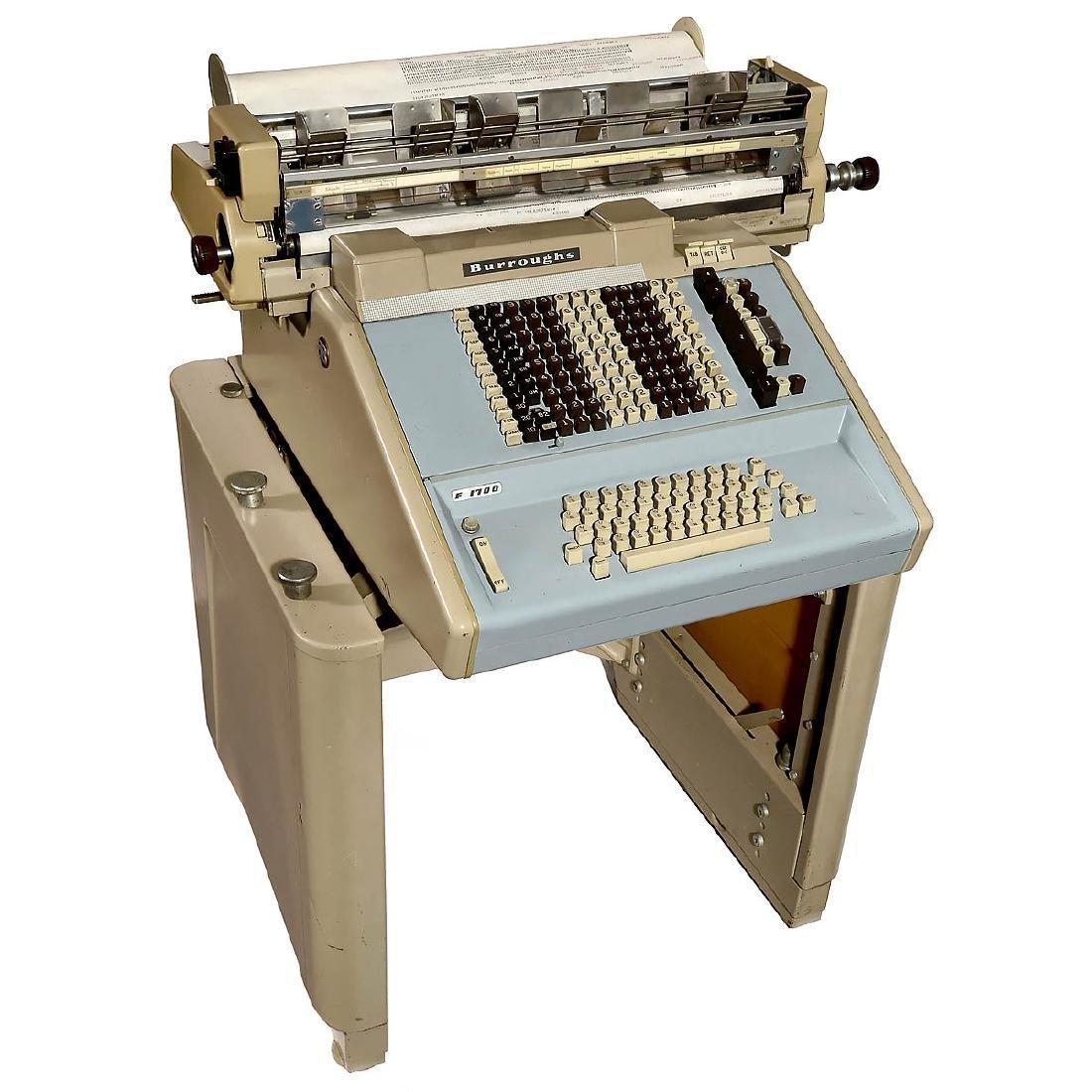 Alphabetic Acccounting Machine Burroughs Sensimatic, c.