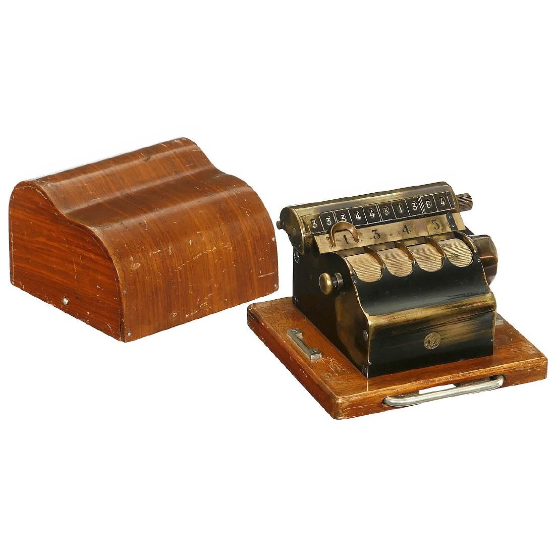 "Bürk's ""Kollektor"" Adding Machine, c. 1910"