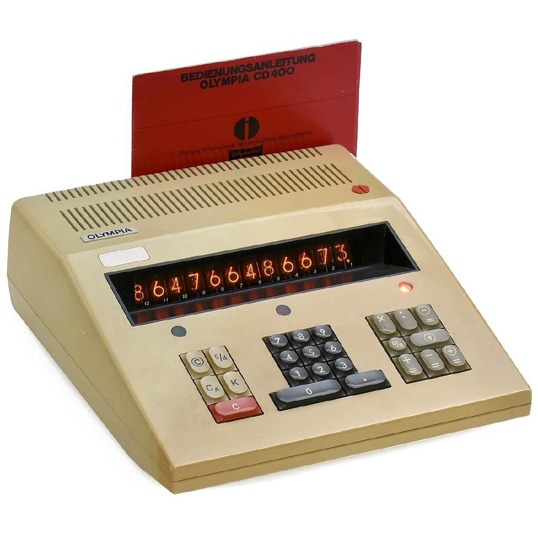 Olympia CD400 Desktop Calculator, 1970