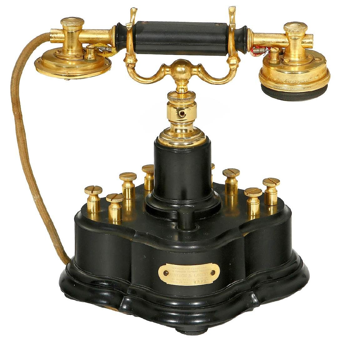 French Deluxe Telephone by Dunyach & Leclert, 1918