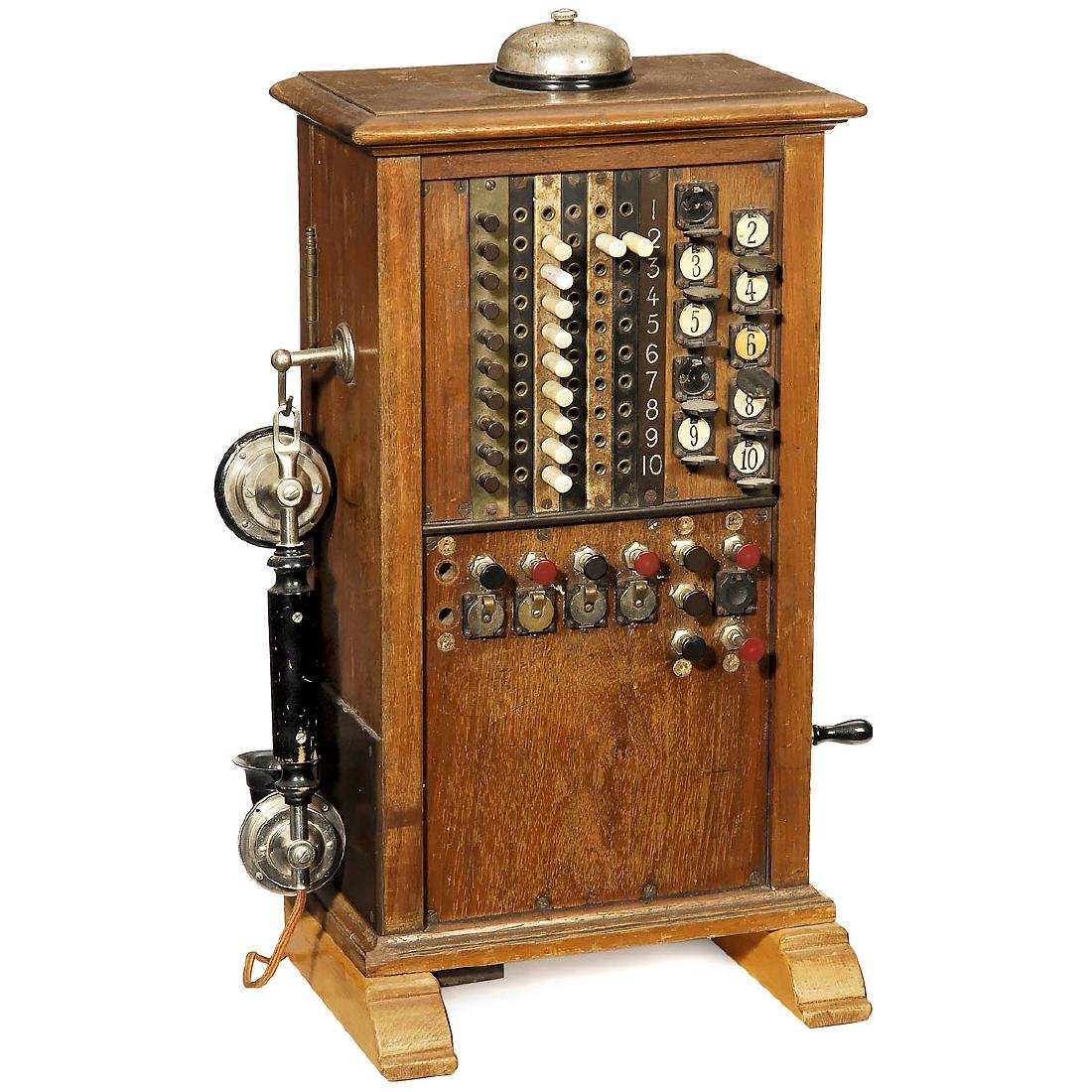 Telephone Switchboard, c. 1910