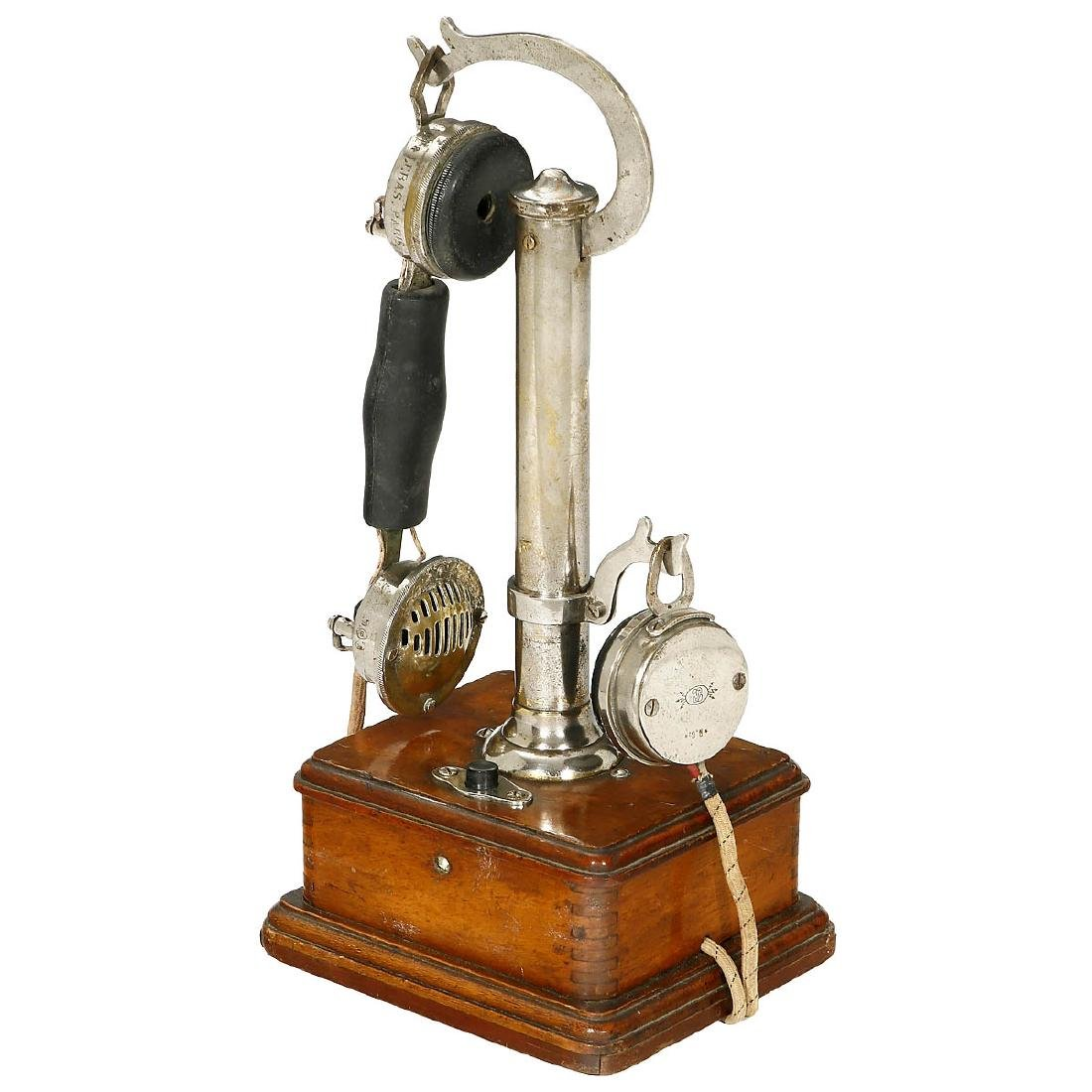 French Table Telephone by Picart Lebas, 1911