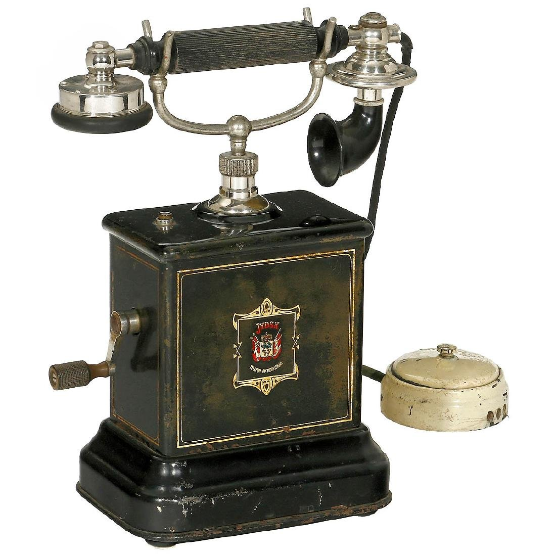 L.M. Ericsson Jydsk Desk Telephone, c. 1915