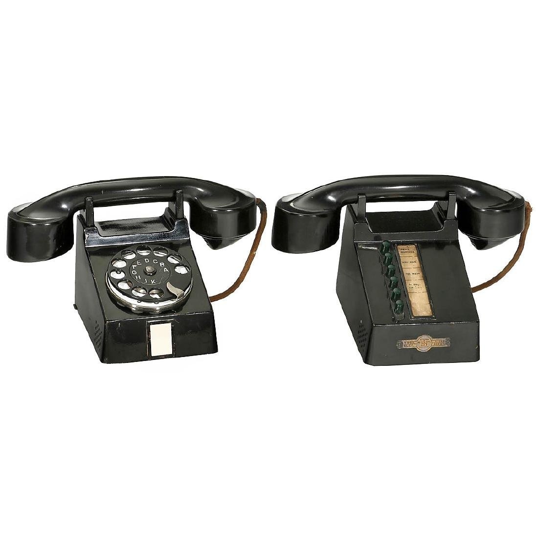 2 Interesting Table Telephones, c. 1940