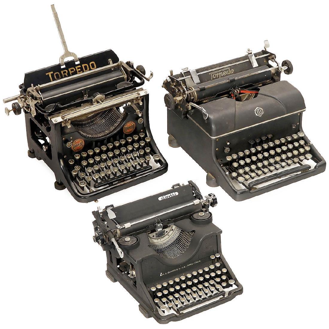 5 Typewriters - 3