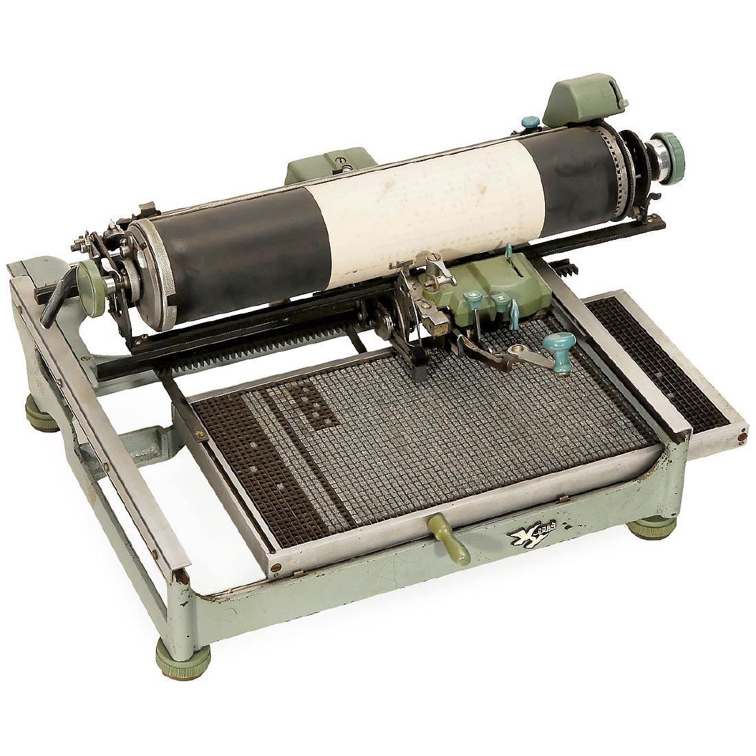 Chinese Mechanical Typewriter, c. 1955 - 2
