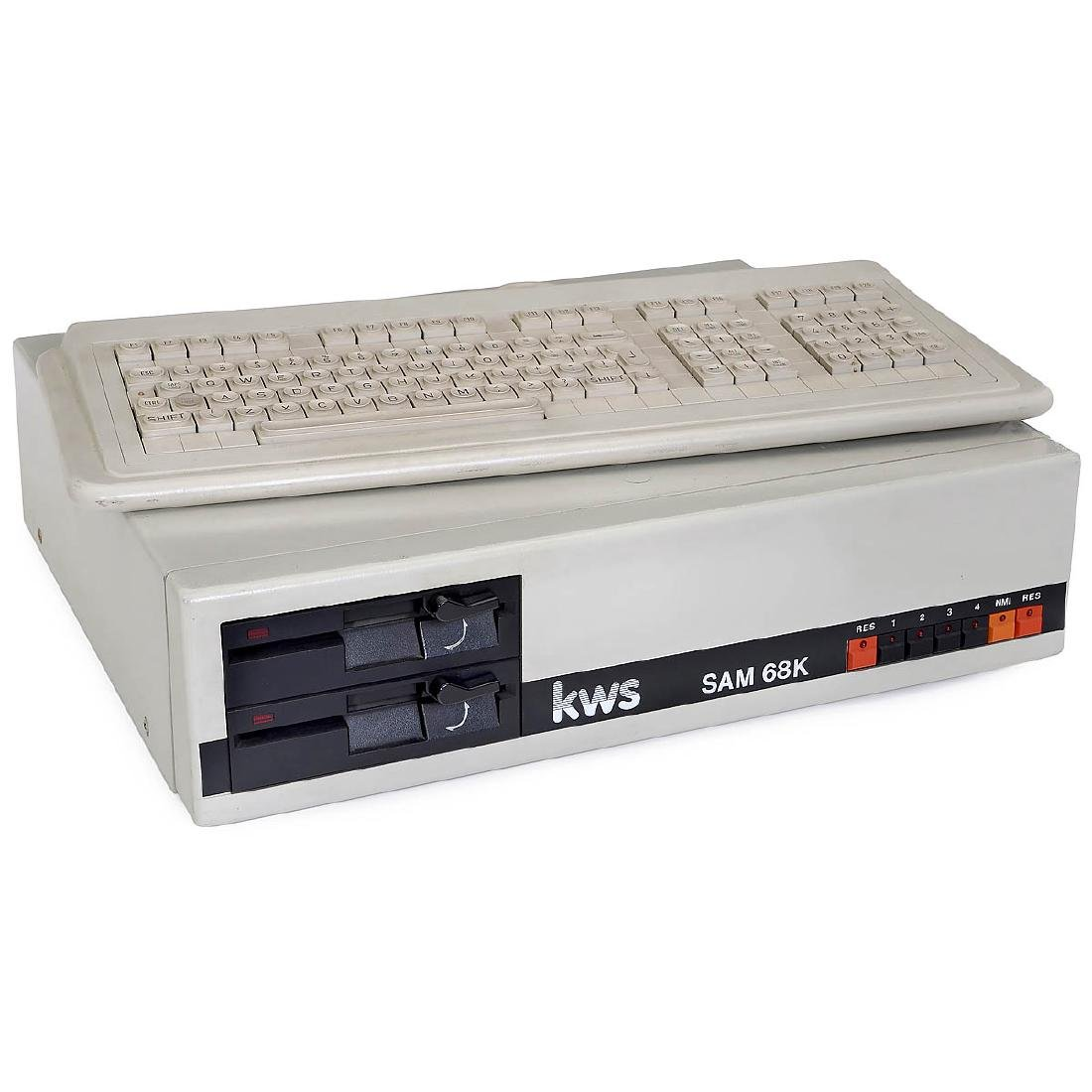 KWS SAM 68K Computer, 1983