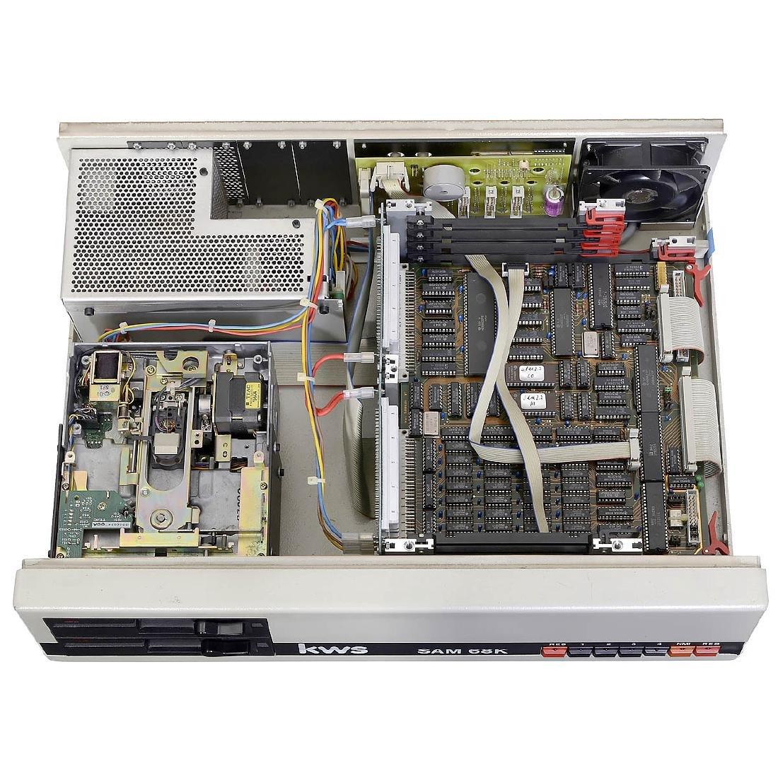 KWS SAM 68K Computer, 1983 - 2