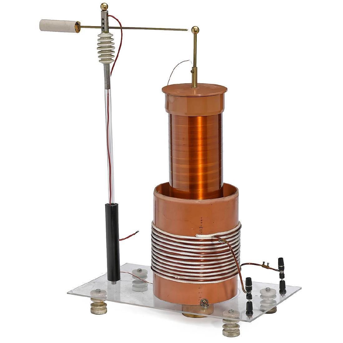 High-Voltage Apparatus after Tesla, c. 1980