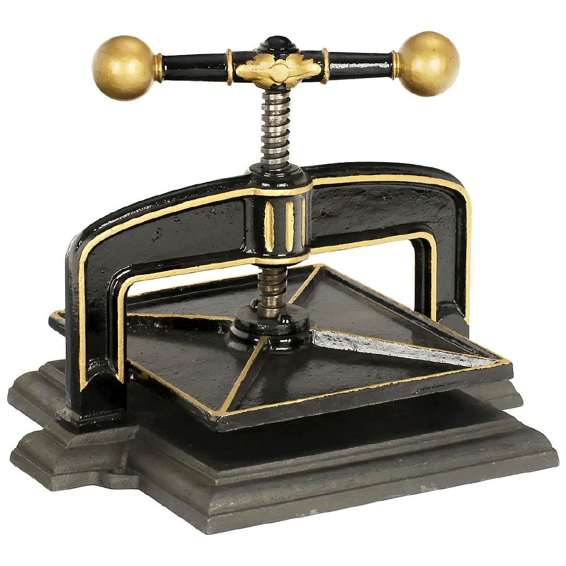 Cast-Iron Book Press, c. 1880