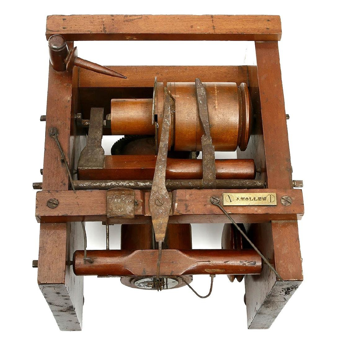 American Patent Model of a Knitting Machine by Joseph - 2
