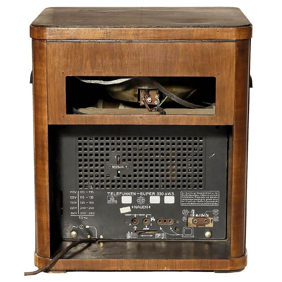 Telefunken-Super 330 aWS - Nauen Radio, 1934 - 2