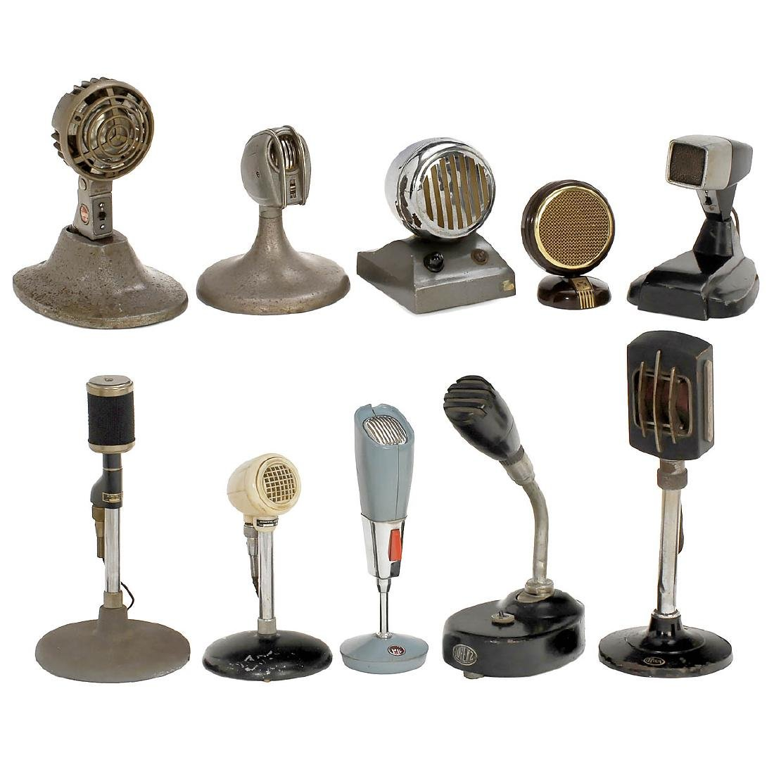 10 Table Microphones