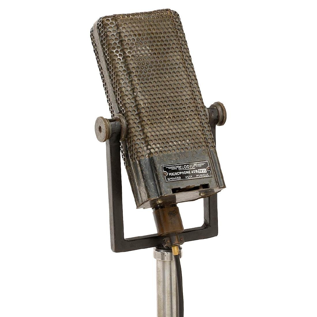 Melodium 42B Ribbon Microphone, 1932