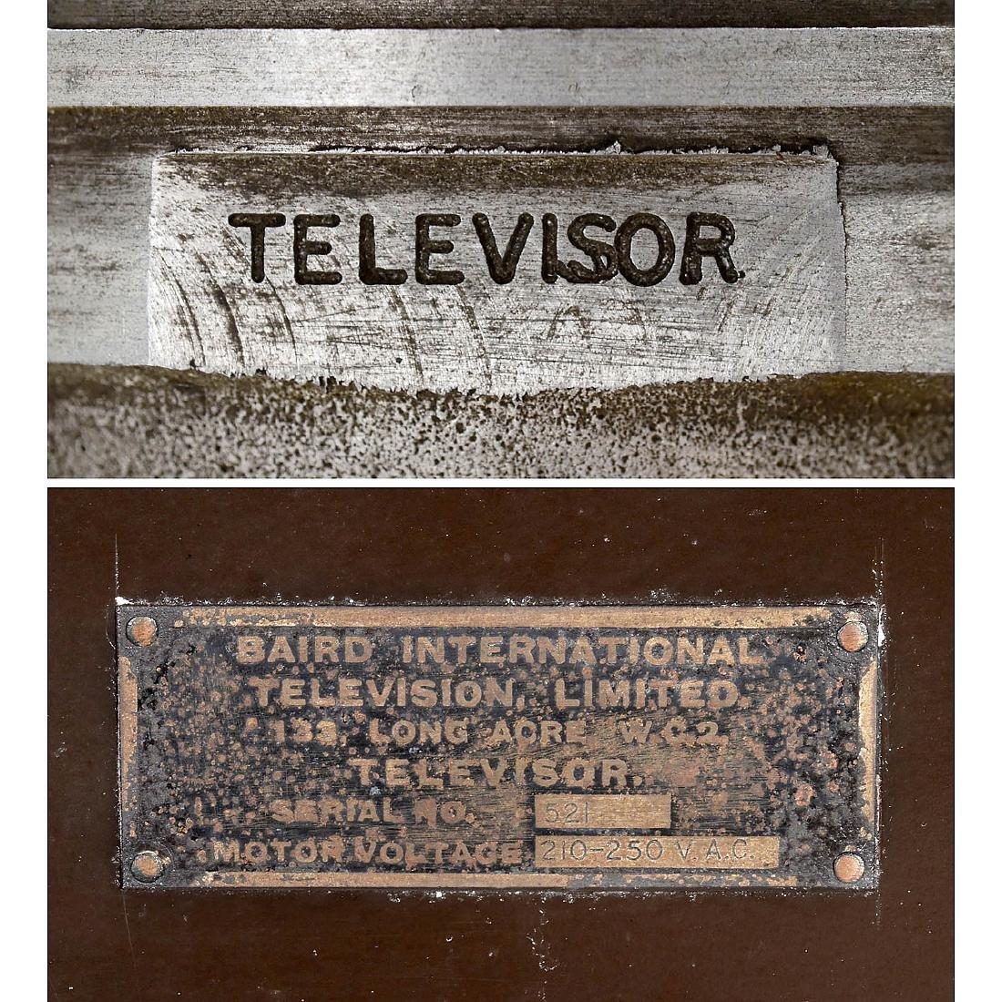 """Rare Baird """"Televisor"""", 1928 - 7"""