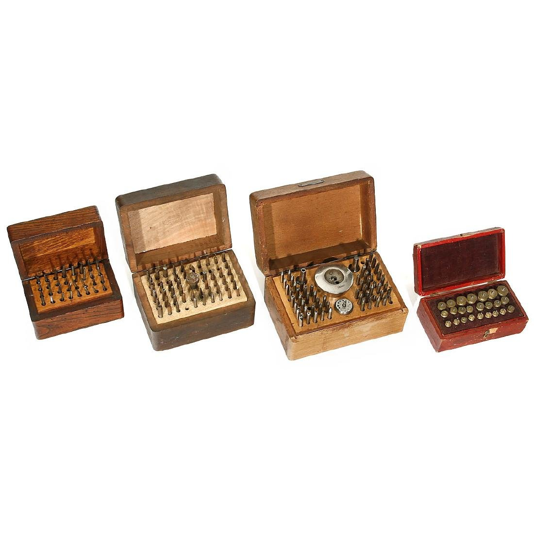 Cased Clockmaker's Tools, 1880-1930