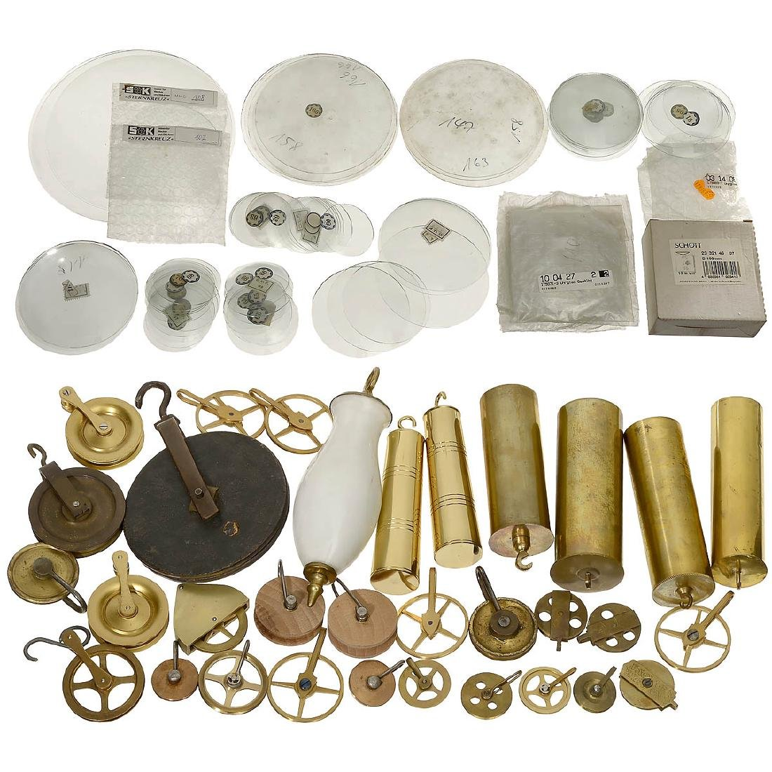 Very Interesting Clock Spare Parts - 3